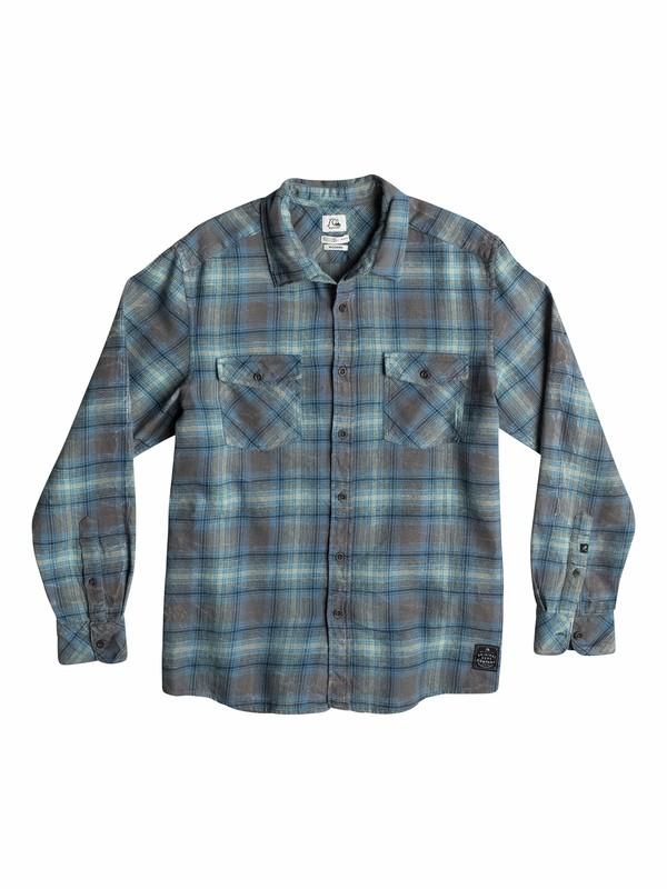 0 Sharkaddict Long Sleeve Modern Fit Shirt  EQYWT03204 Quiksilver