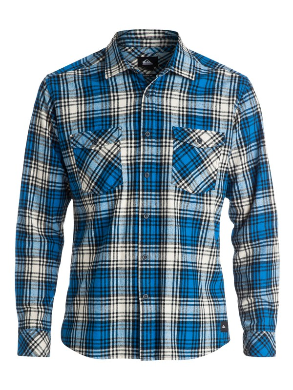 0 Everyday Flannel Long Sleeve Shirt  EQYWT03207 Quiksilver