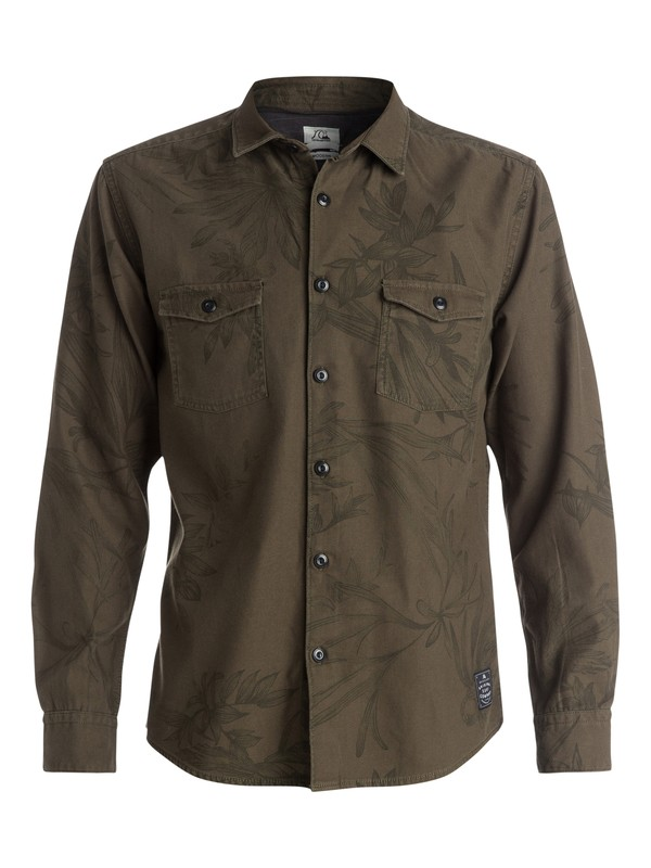 0 Scorpian Overshirt - Chemise manches longues  EQYWT03213 Quiksilver