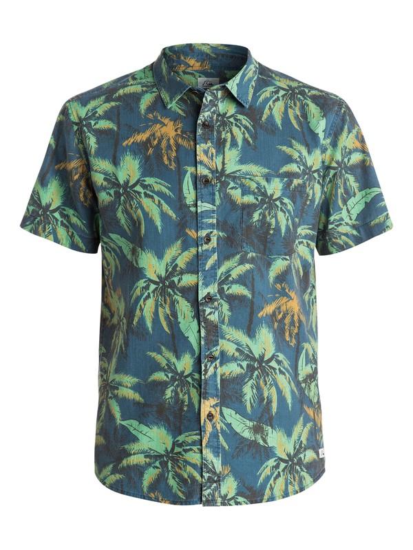 0 Sweaty Palm Short Sleeve Modern Fit Shirt  EQYWT03220 Quiksilver