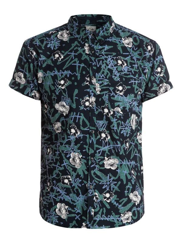 0 Turbo Dots Shirt - Chemise manches courtes  EQYWT03224 Quiksilver
