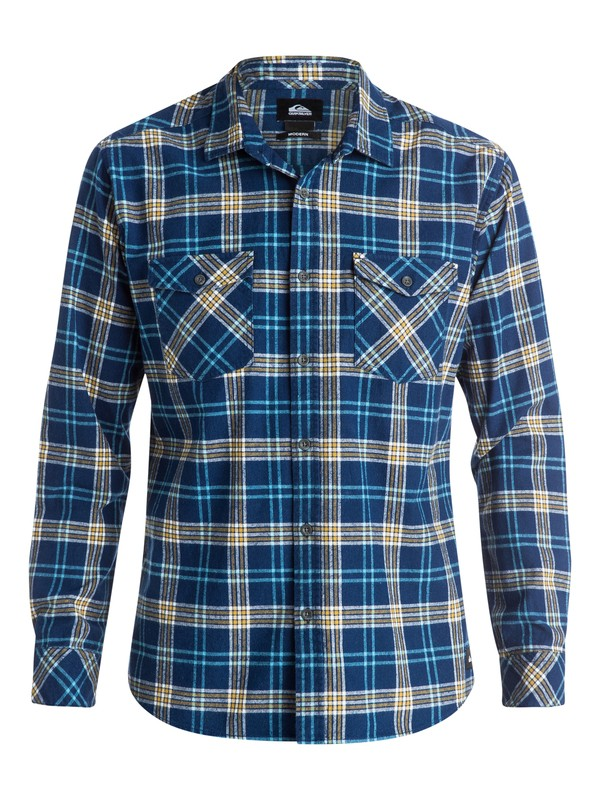 0 Everyday Flannel Long Sleeve Shirt  EQYWT03232 Quiksilver