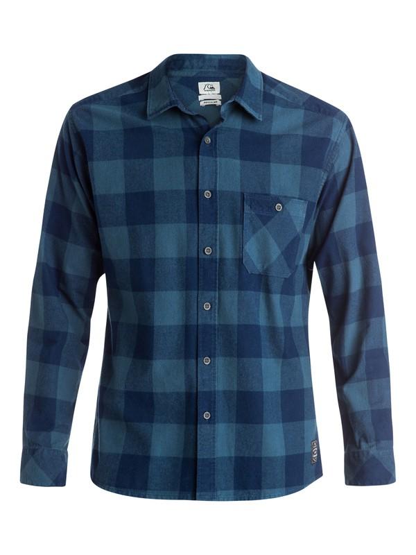 0 Yardbite Buffalo Long Sleeve Shirt  EQYWT03243 Quiksilver