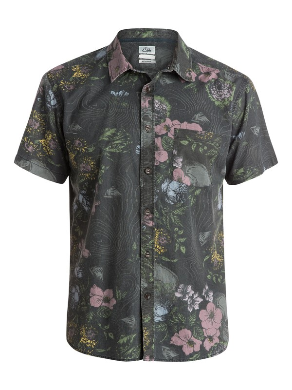 0 Floral Storm Short Sleeve Shirt  EQYWT03250 Quiksilver