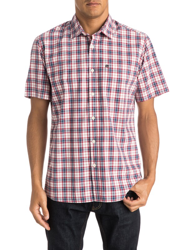 0 Everyday Check Short Sleeve Shirt  EQYWT03269 Quiksilver