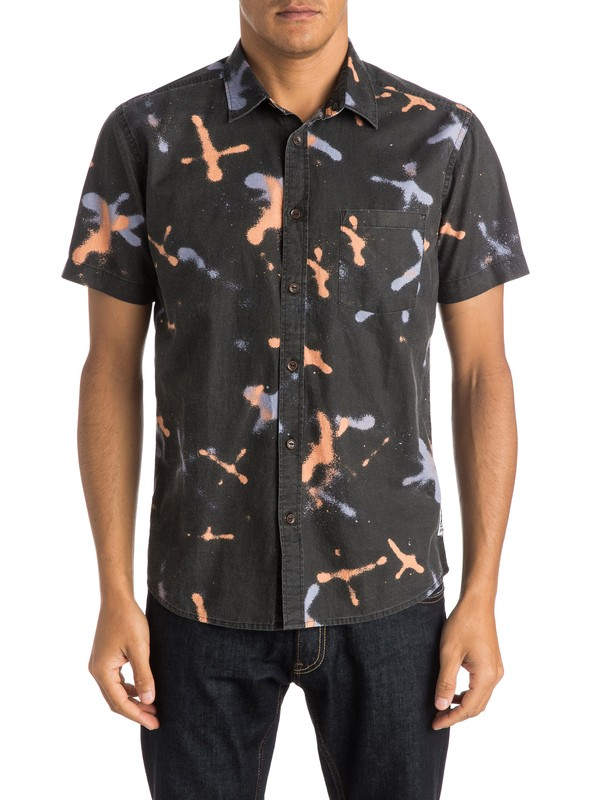 0 Markings Shirt - Chemise manches courtes  EQYWT03274 Quiksilver