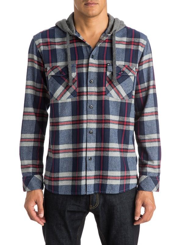0 Snap Up Long Sleeve Shirt  EQYWT03277 Quiksilver