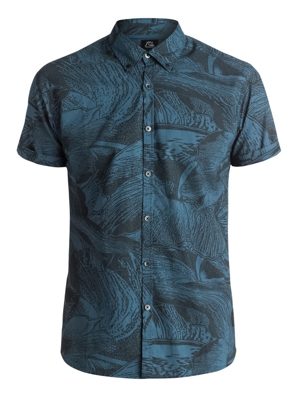 0 Dark Trip Shirt - Chemise manches courtes  EQYWT03281 Quiksilver