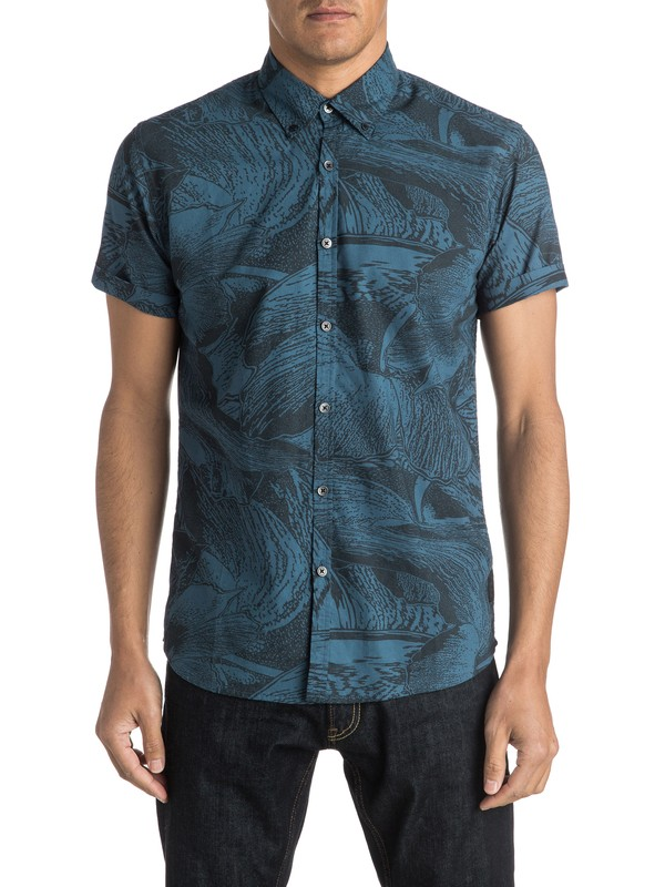 0 Dark Trip Shirt Short Sleeve Shirt  EQYWT03281 Quiksilver