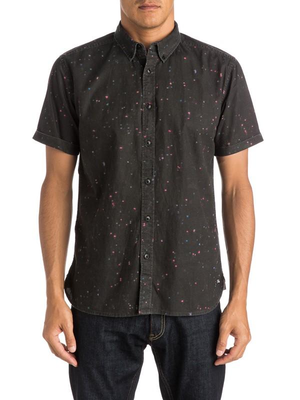 0 Ghetto Lights Shirt Short Sleeve Shirt  EQYWT03285 Quiksilver