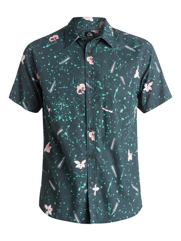 0 Sweet And Sour Shirt - Chemise manches courtes Noir EQYWT03286 Quiksilver