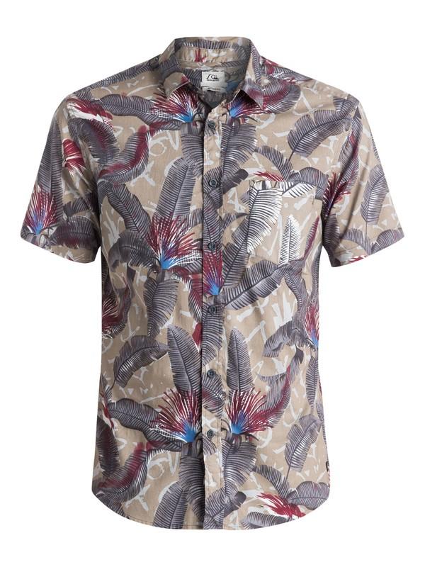 0 Riot Shirt - Chemise manches courtes Gris EQYWT03287 Quiksilver