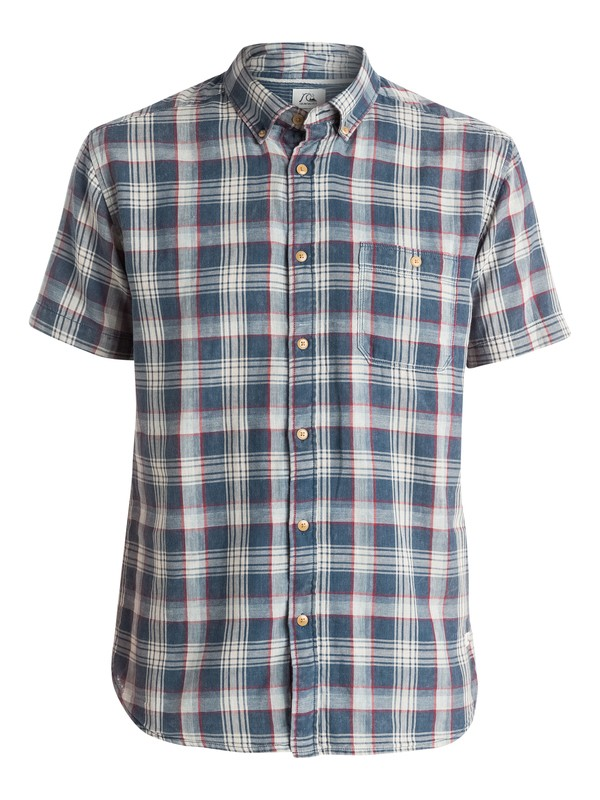 0 Brightshade - Chemise manches courtes Bleu EQYWT03291 Quiksilver