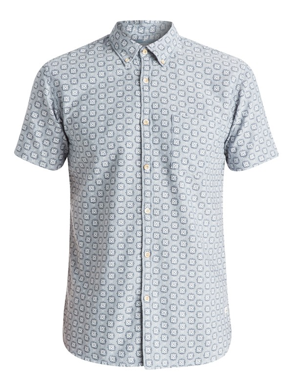 0 Plumes Oxford - Chemise manches courtes  EQYWT03295 Quiksilver