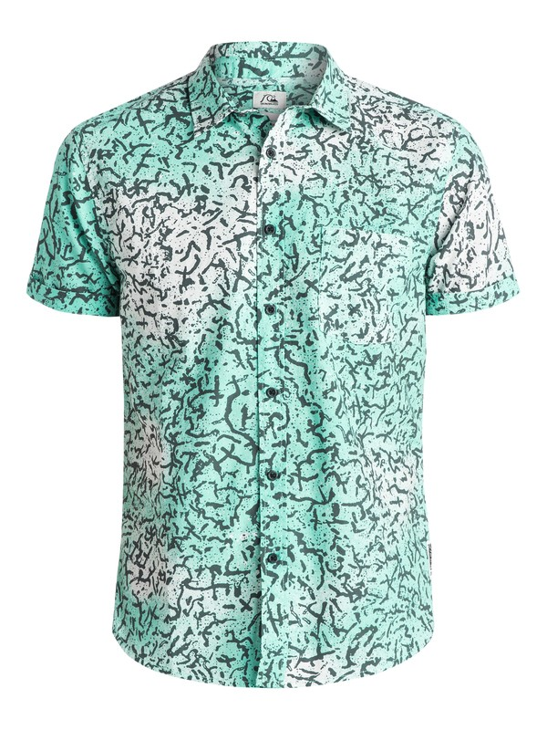 0 Cracked Shirt - Chemise manches courtes  EQYWT03300 Quiksilver