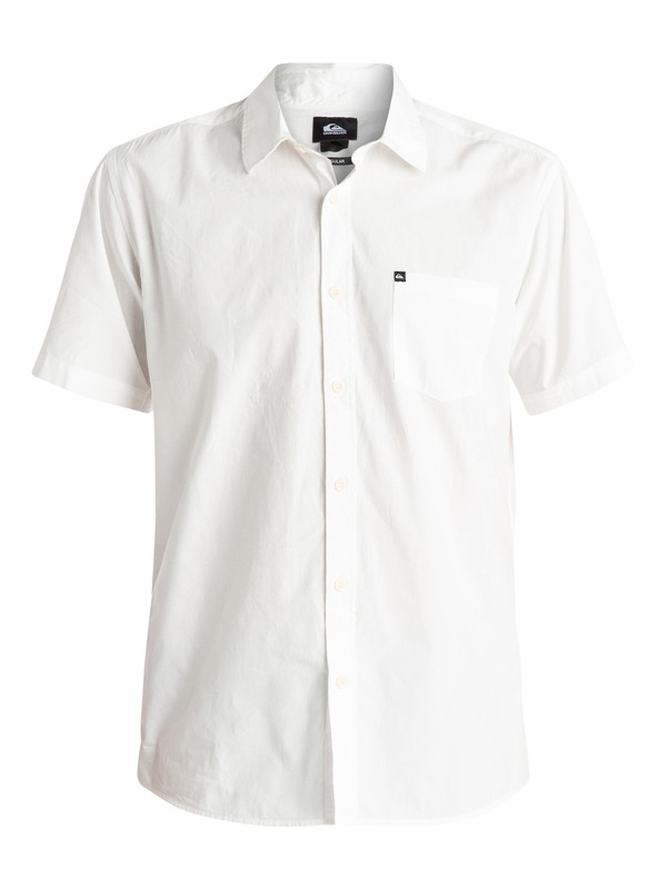 0 Everyday Solid - Chemise manches courtes Blanc EQYWT03302 Quiksilver