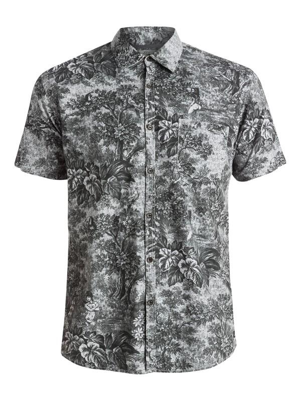 0 Sunset Tunnel Shirt - Chemise manches courtes Noir EQYWT03314 Quiksilver