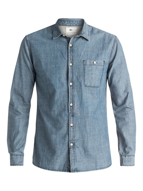 0 The Chambray - Chemise à manches longues  EQYWT03349 Quiksilver