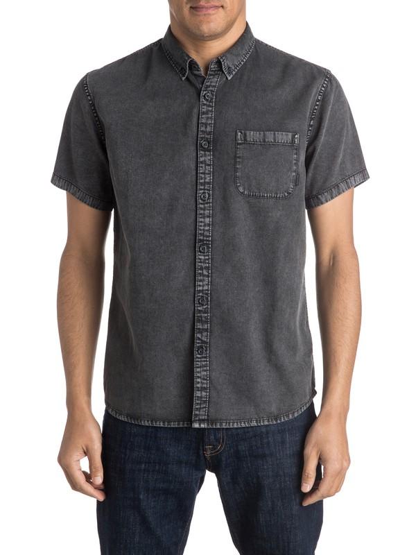 0 Eden Found Short Sleeve Shirt  EQYWT03357 Quiksilver