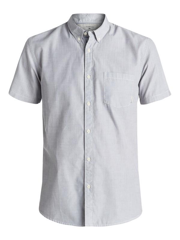 0 Everyday Wilsden Short Sleeve Shirt Black EQYWT03379 Quiksilver