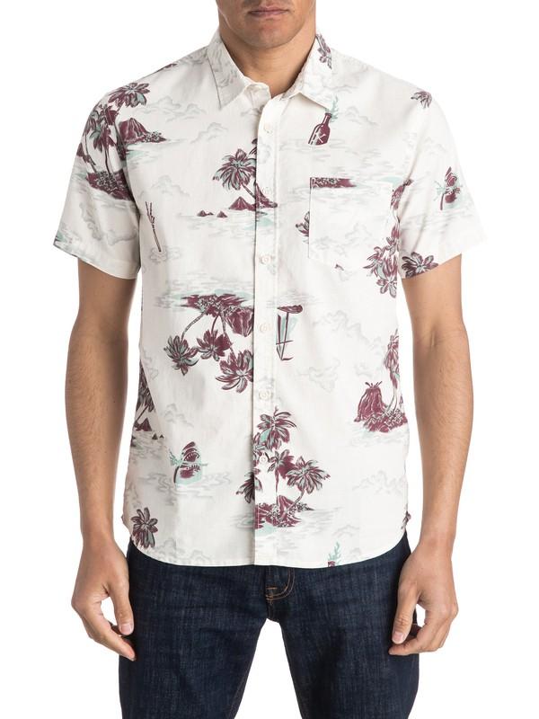 0 Island Apocalypse Short Sleeve Shirt  EQYWT03409 Quiksilver
