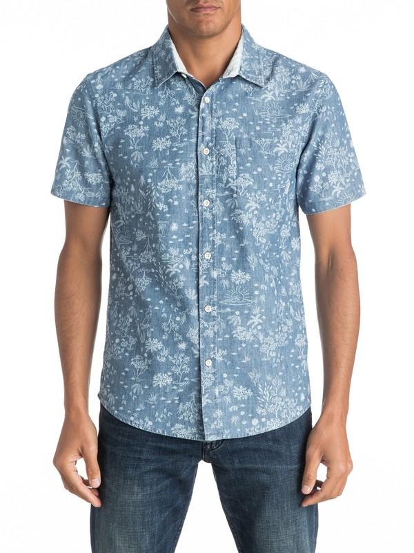 0 Bloom Field Diver Short Sleeve Shirt  EQYWT03443 Quiksilver