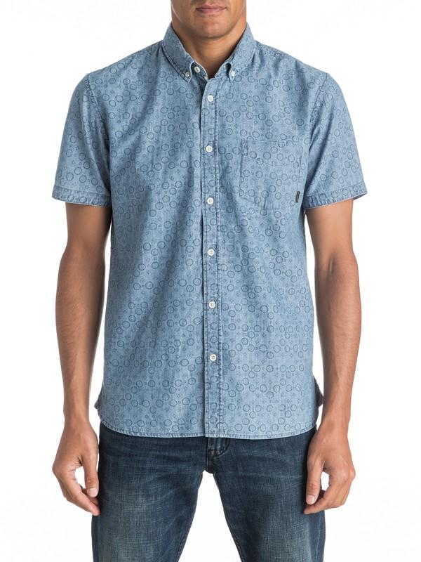 0 Spectrum Rips Short Sleeve Shirt  EQYWT03456 Quiksilver