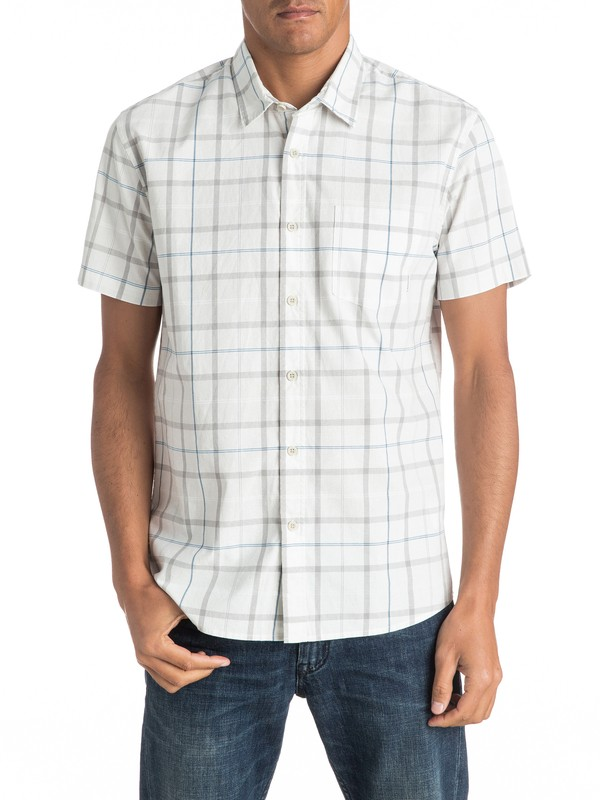 0 Everyday Check Short Sleeve Shirt  EQYWT03492 Quiksilver