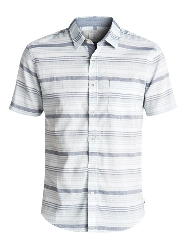 0 Aventail Short Sleeve Shirt Blue EQYWT03497 Quiksilver