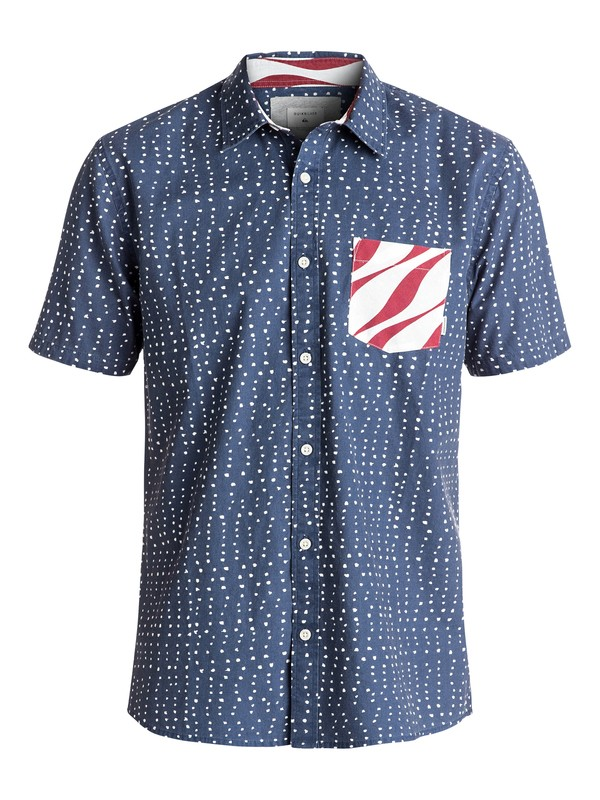 0 New Merica Short Sleeve Shirt  EQYWT03500 Quiksilver