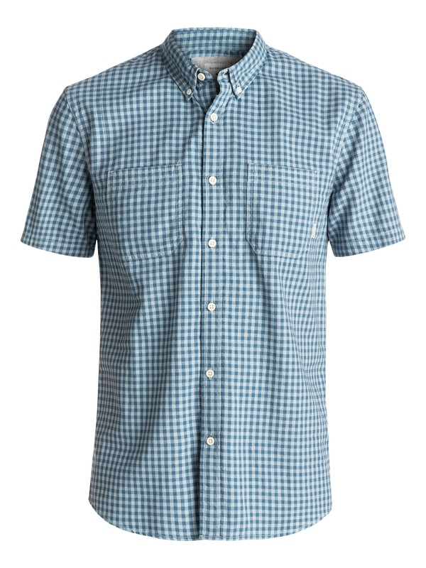 0 Forte Night Short Sleeve Shirt Blue EQYWT03502 Quiksilver