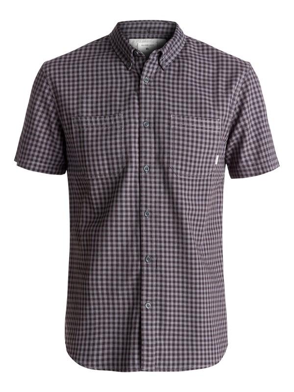0 Forte Night Short Sleeve Shirt Black EQYWT03502 Quiksilver