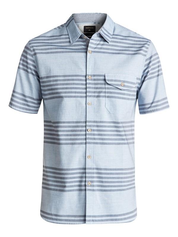 0 Srut Box Flannel Short Sleeve Shirt  EQYWT03504 Quiksilver