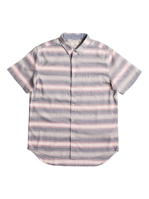 0 Aventail Update Short Sleeve Shirt Pink EQYWT03528 Quiksilver