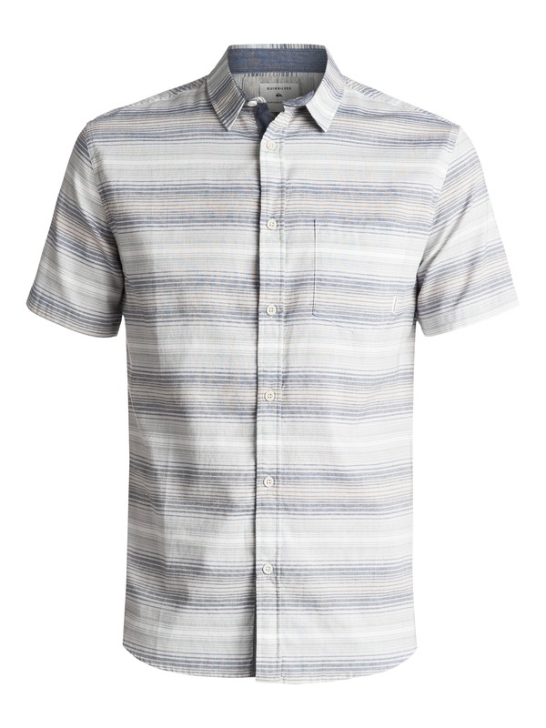 0 Aventail Update Short Sleeve Shirt Blue EQYWT03528 Quiksilver