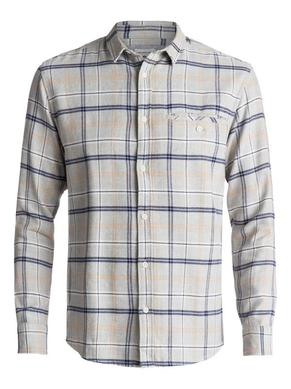 0 Sunda Ray Flannel Long Sleeve Shirt Blue EQYWT03534 Quiksilver