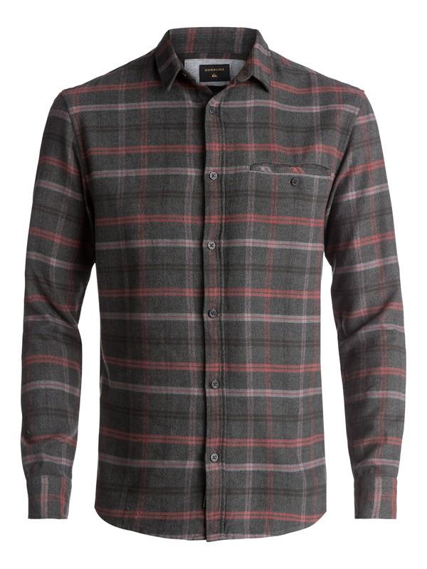 0 Sunda Ray Flannel Long Sleeve Shirt Green EQYWT03534 Quiksilver