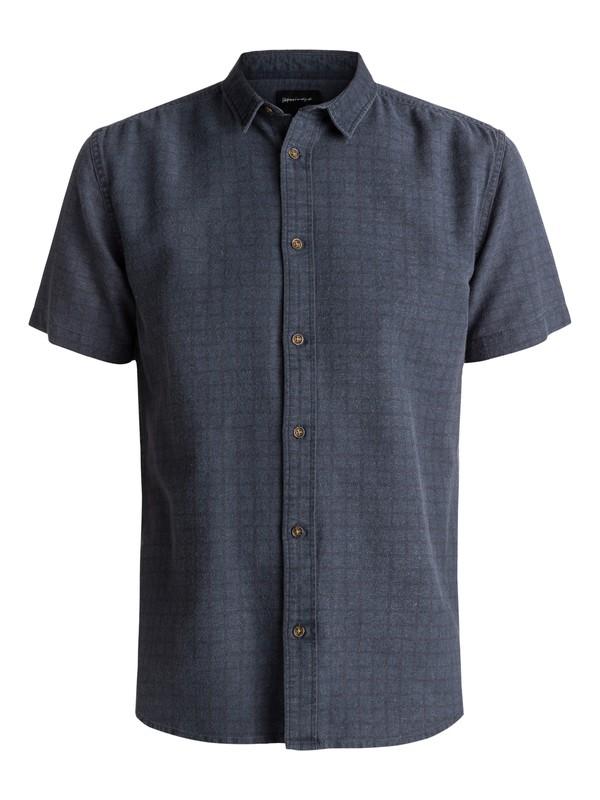 0 Cali Locals Short Sleeve Shirt Blue EQYWT03545 Quiksilver