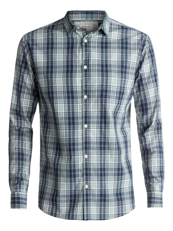 0 Tidal Long Sleeve Shirt Green EQYWT03555 Quiksilver