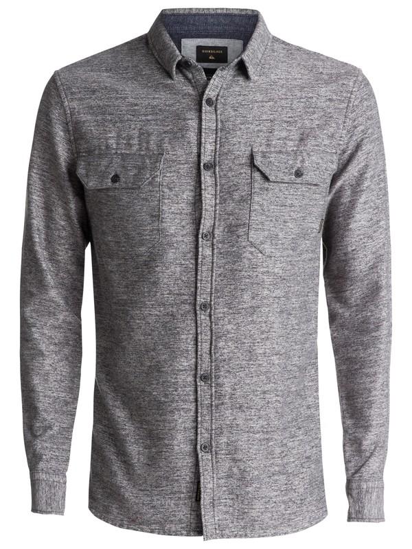 0 Double Jungle Long Sleeve Shirt Black EQYWT03559 Quiksilver