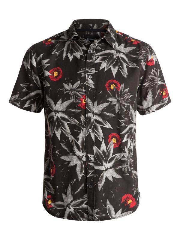 0 Agave Short Sleeve Shirt Black EQYWT03563 Quiksilver
