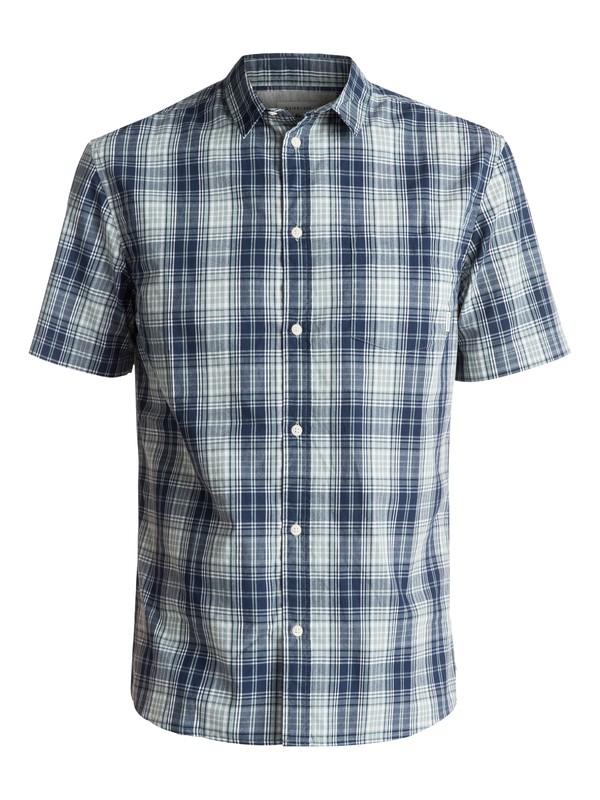 0 Tidal Short Sleeve Shirt Green EQYWT03569 Quiksilver