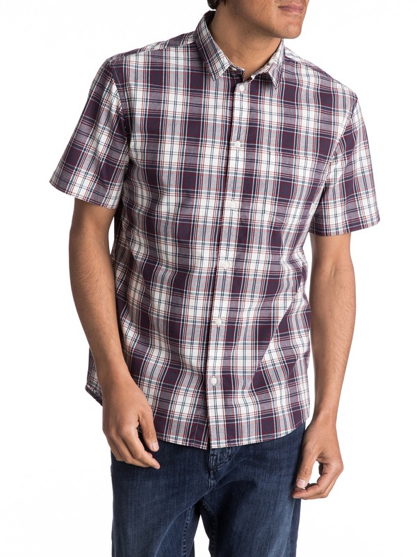 0 Tidal Short Sleeve Shirt Blue EQYWT03569 Quiksilver