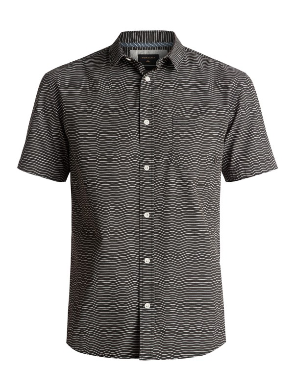 0 Heat Wave Short Sleeve Shirt Black EQYWT03576 Quiksilver