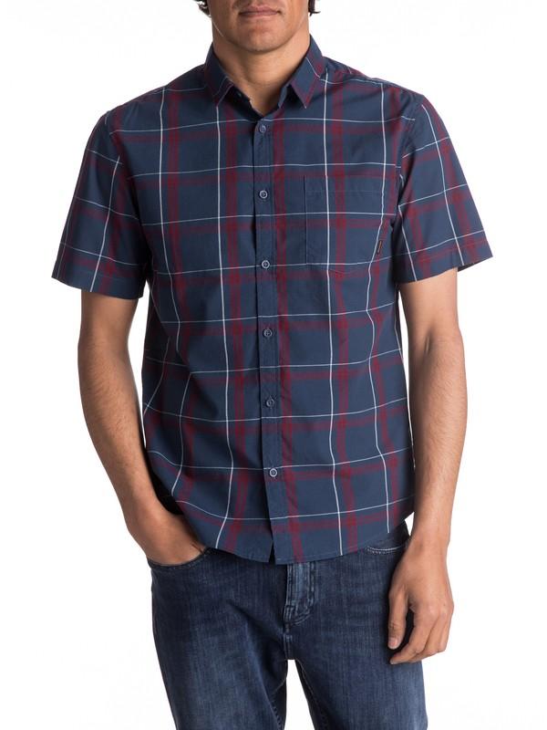 0 Haten Rise Short Sleeve Shirt  EQYWT03582 Quiksilver