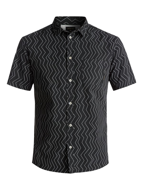 0 Men's Variable Short Sleeve Shirt Black EQYWT03609 Quiksilver
