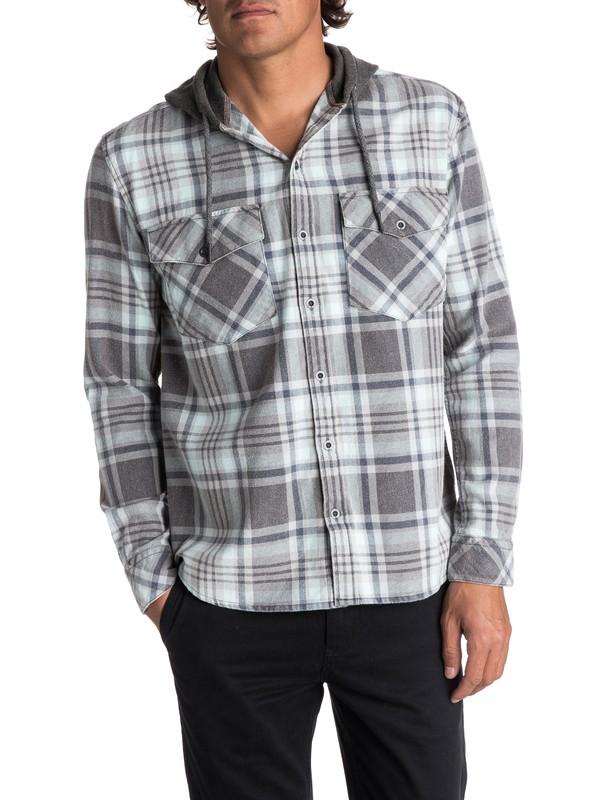 0 Men's Tang Hooded Long Sleeve Shirt  EQYWT03614 Quiksilver
