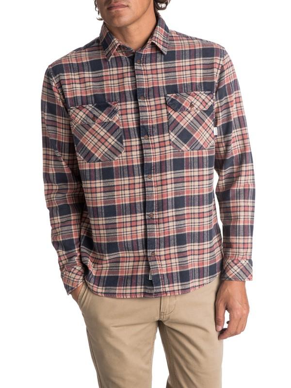 0 Men's Tangloop Long Sleeve Shirt Blue EQYWT03623 Quiksilver
