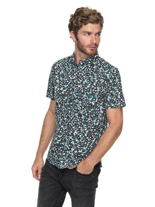 0 Quiksilver - Short Sleeve Shirt Green EQYWT03647 Quiksilver