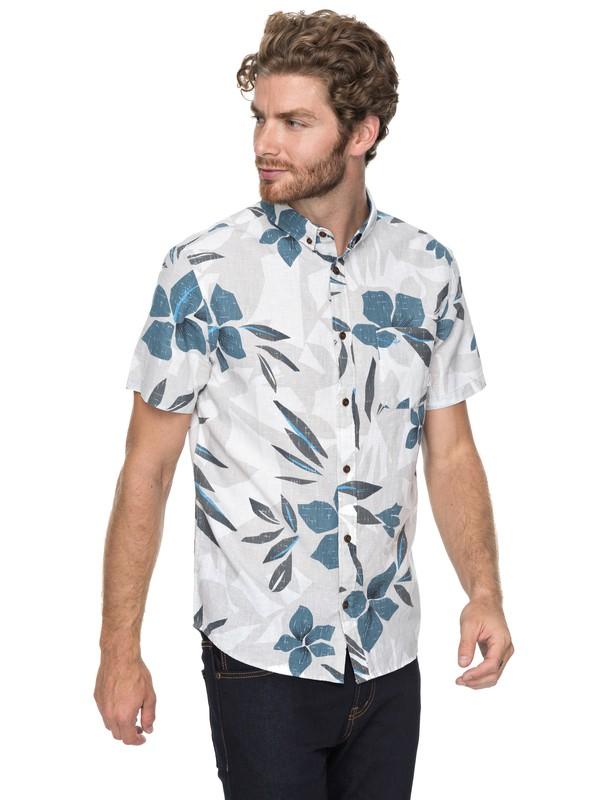 0 Quiksilver Short Sleeve Shirt Grey EQYWT03647 Quiksilver